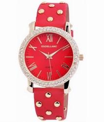 6ffa22c0d3 Dámske hodinky Excellanc vybíjané červené empty