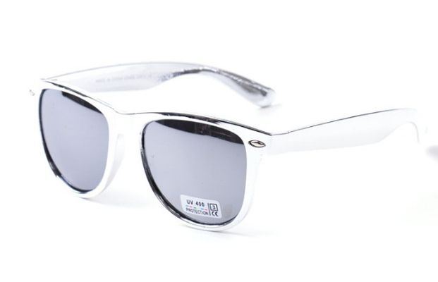 Slnečné okuliare WAYFARER L.A. - Silver zrkadlovky 1fd1f3e49e1