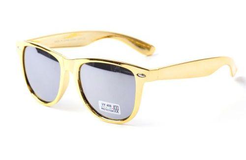 Slnečné okuliare WAYFARER L.A. - Gold zrkadlovky 7fcf287a0a1