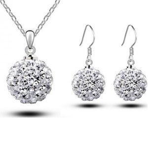 Austrian Crystal SW set Ball Clear