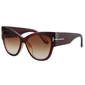 74b0f997d Dámske slnečné okuliare Massive hnedé empty