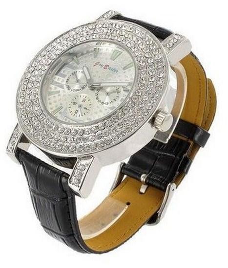 5ee3b5e6be77 Vykladané dámske hodinky Jay Baxter Black