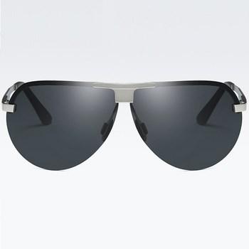 Polarizačné slnečné okuliare pilotky Wayne strieborné čierne empty 005ebc75ea7