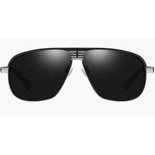 92530ec1a Polarizačné slnečné okuliare Luis čierne strieborné empty